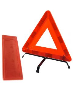 Car Warning Safety Triangle - With Case