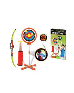 Toy Archery Set With Bow and Arrow Target