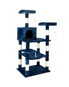 Lookout Style Cat Tree - Blue