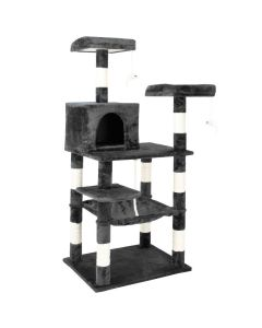 Lookout Style Cat Tree - Grey