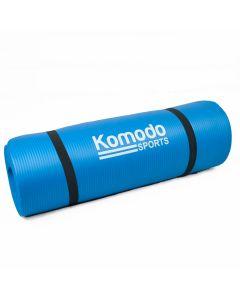 Blue 15mm Yoga Exercise Mat