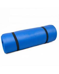 15mm Yoga Exercise Mat - Blue