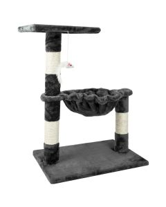 Hammock Style Cat Tree - Grey