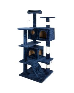 Tower Style Cat Tree - Blue
