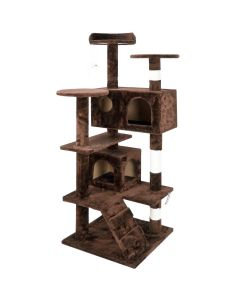 Tower Style Cat Tree - Brown