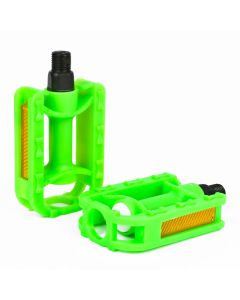 Green Bicycle Pedals for Kids