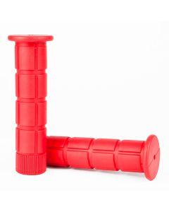 Bike Grip Set - 125mm - Red