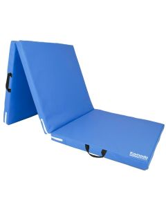 Blue Tri Folding Yoga Mat