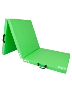 Green Tri Folding Yoga Mat